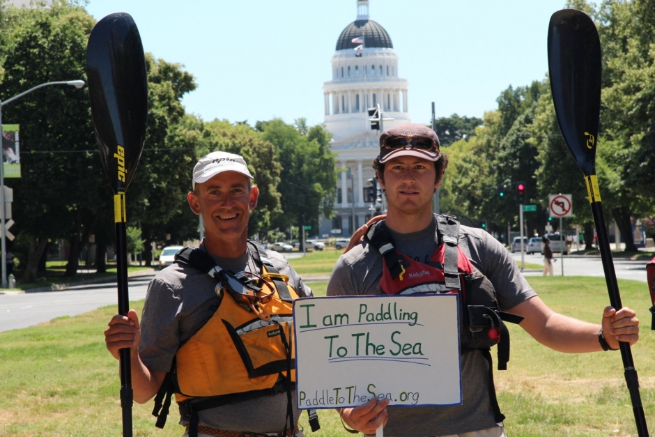 , June River Rally at the State Capitol Building in Sacramento, Rivers For Change