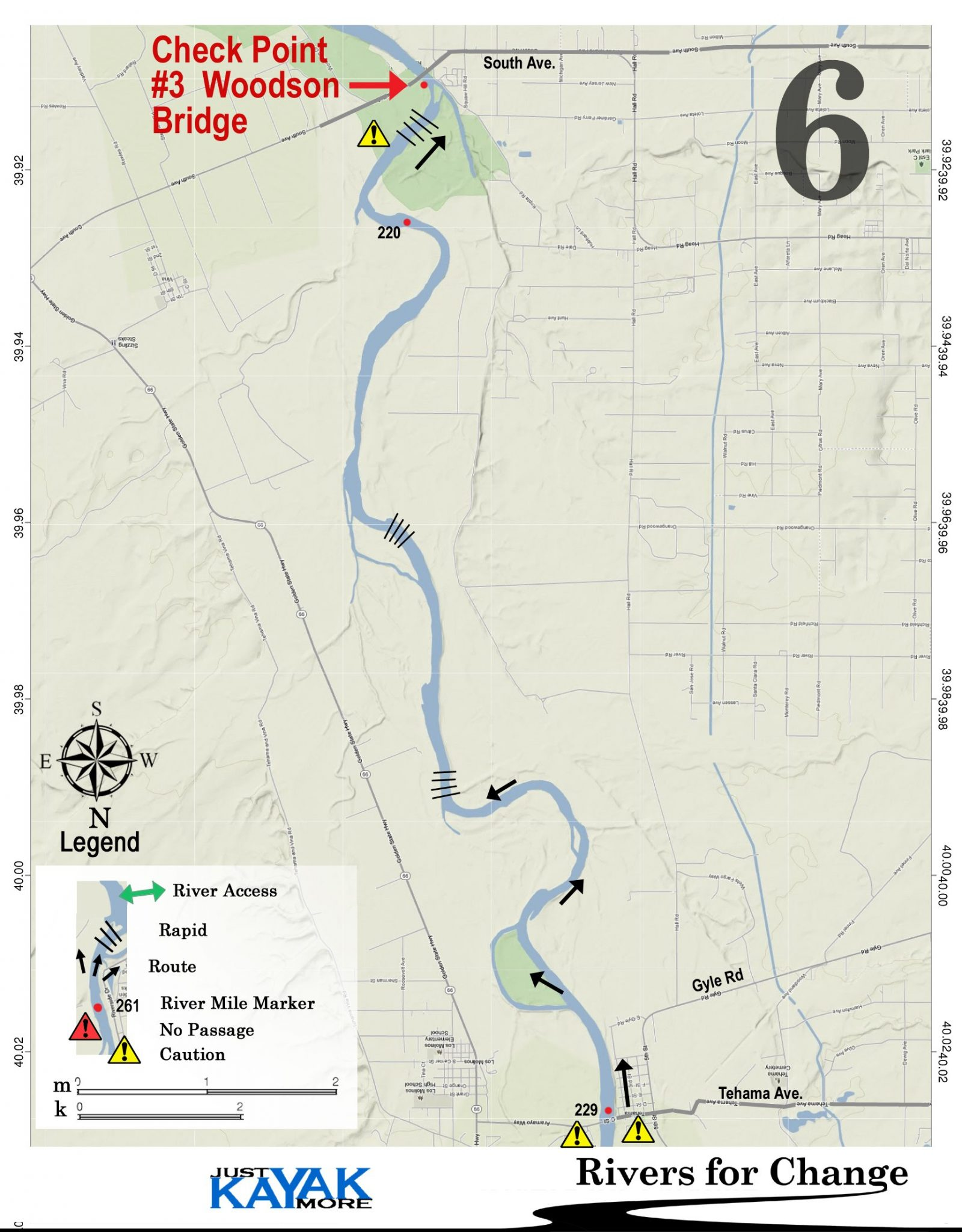 Course Maps Rivers For Change