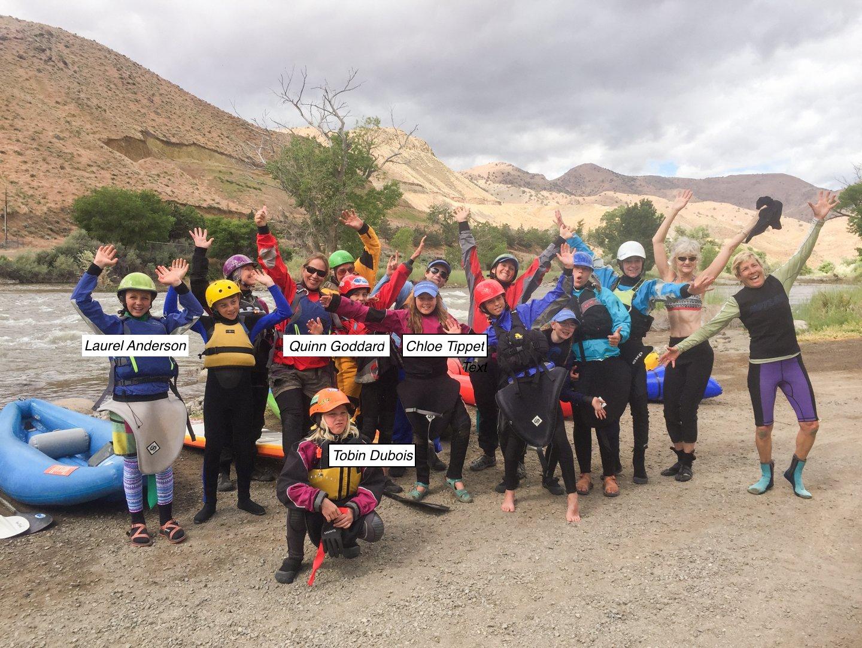 , 2018 Student Ambassador Team, Rivers For Change